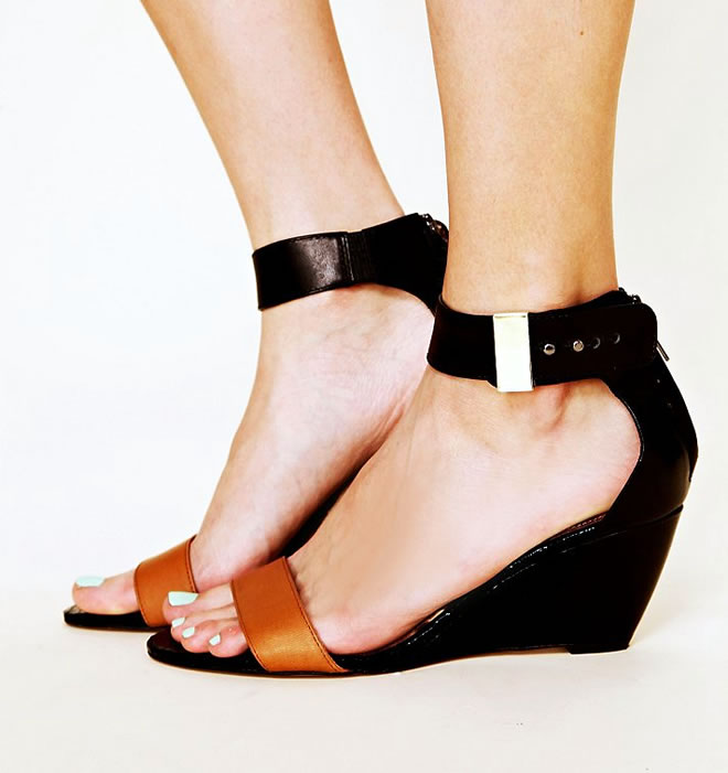 small wedge shoes