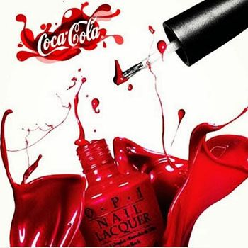 OPI and Coca-Cola Come up with Amazing Shades for Nails