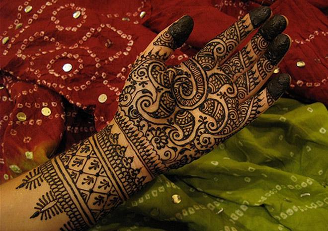 Rajasthani Mehndi Design