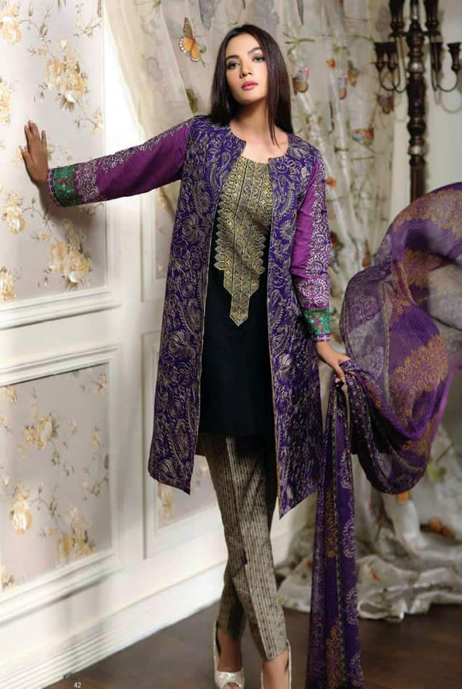 322c8e8a08 Pakistani Stylish Dresses For Women 2016