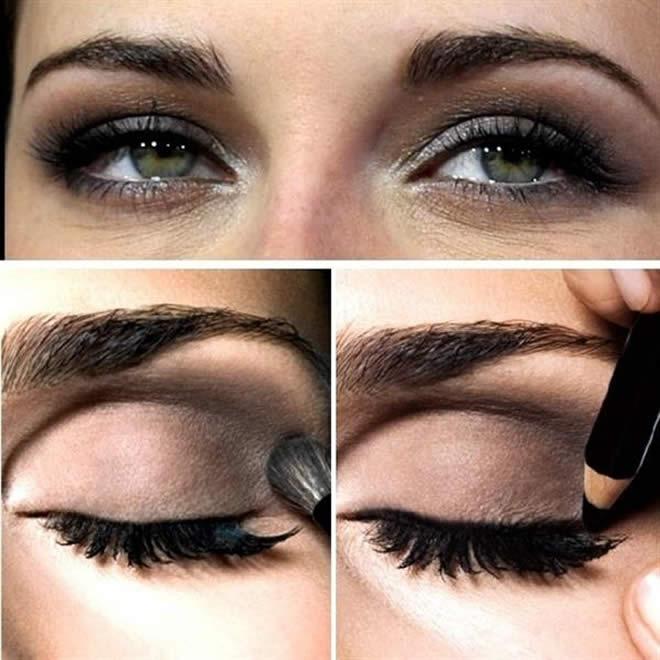 smokey eyes images