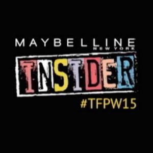 Backstage with Maybelline Insider for TFPW15