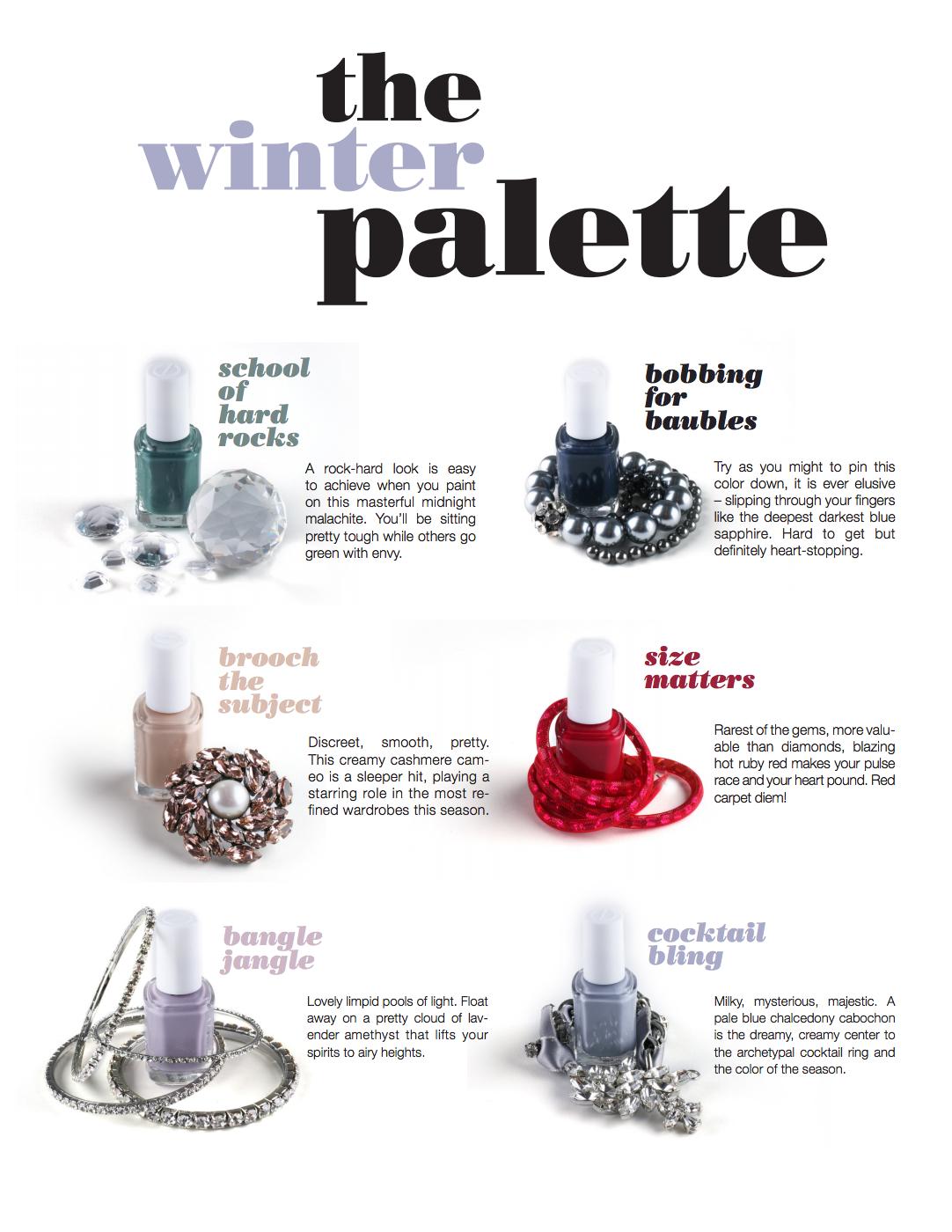 Top 6 Winter Palette