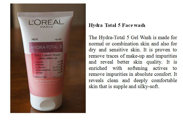 Hydra Total 5 Face wash