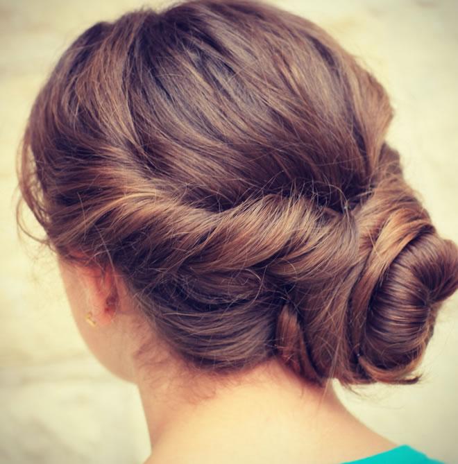 new bun hair