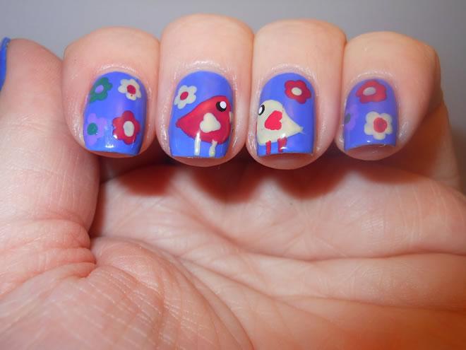 cute nail art pics
