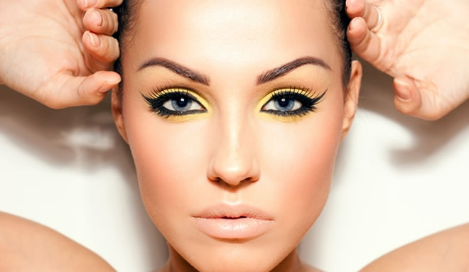 yellow makeup color