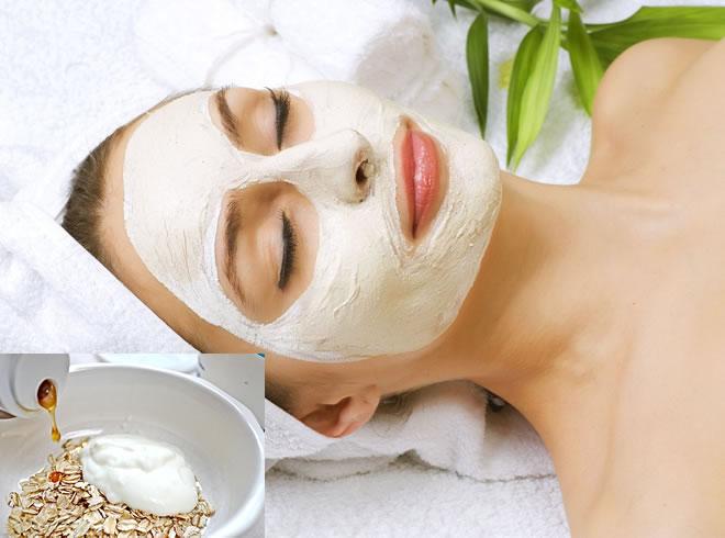 Yogurt and oatmeal Facial mask
