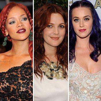 The 3 Gutsiest Celeb Hair Color Chamleons