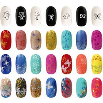 Different kinds of Artificial nails