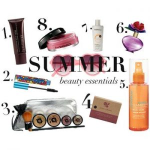 Essential Summer Cosmetics to Protect Your Skin