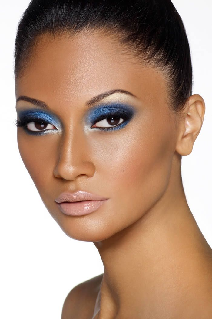 Smokey Eye Makeup for Brown Skin