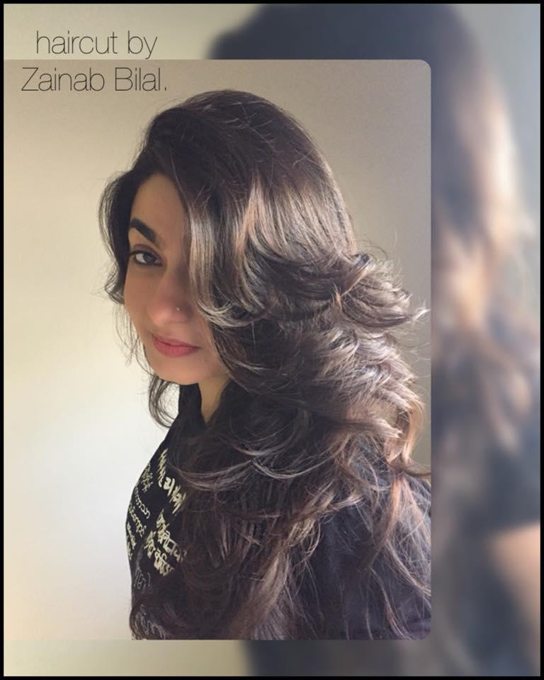 Haircut by Zainab Bilal