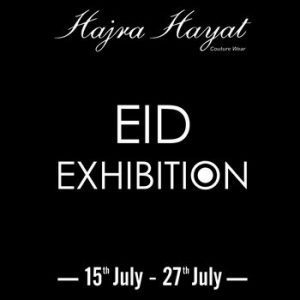 Hajra Hayat brings Eid Exhibition