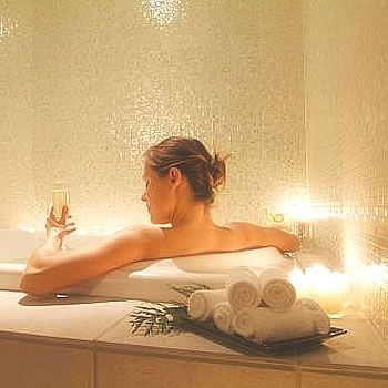 Relax yourself in a spa bath