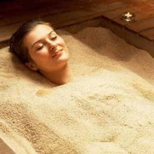 Hot Sand Bath