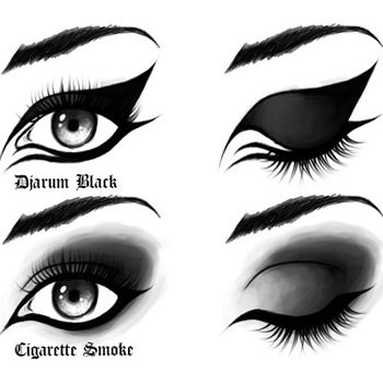 How To Wear Black Eye Make Up The Right Way