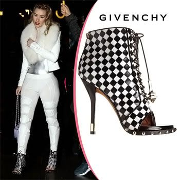Iggy Azalea Braves Elements in Givenchy Booties