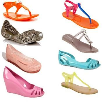 Neon Jellies Shoes Fashion