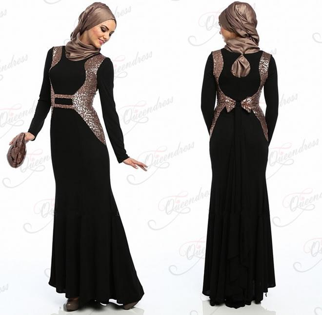 abaya wearing styles