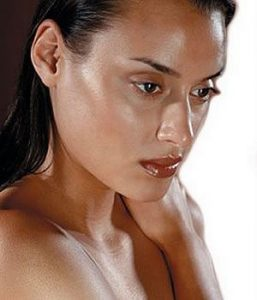 Oily skin hazard