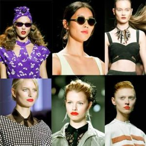 Shiny Hair, Dramatic Eyeliner, Bold Lips: Beauty Trends