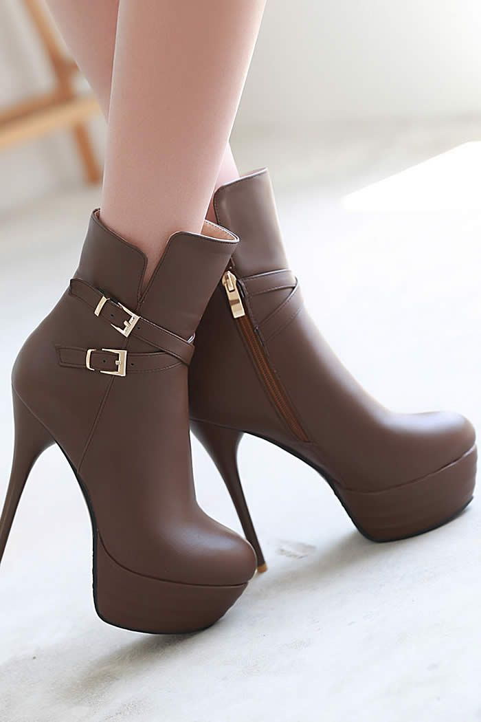 08673b88515fa Kick Up Your Feet in High Heel Pump for Winter