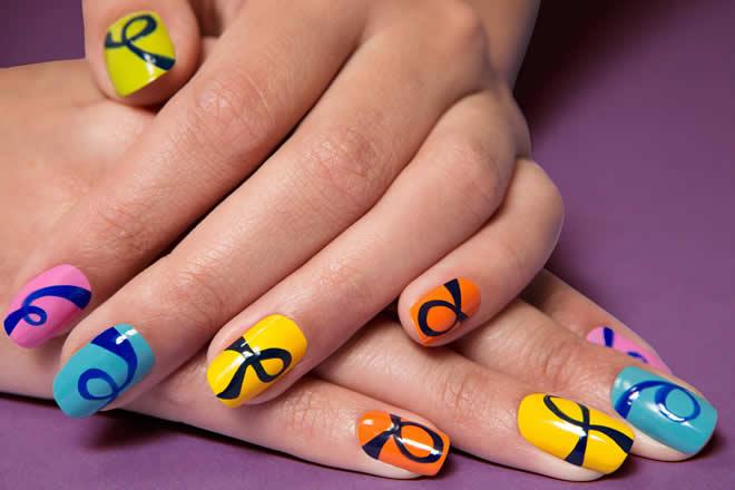 trendy nail designs 2015