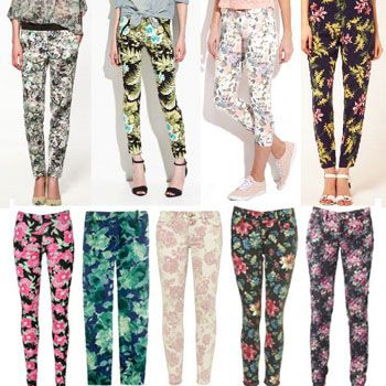 Stylize Your Summers with Floral Pants