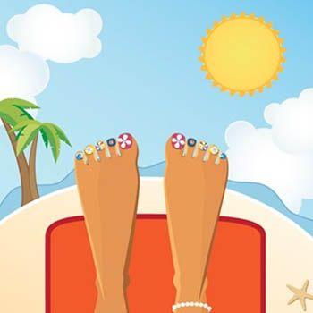 Avoiding Summer Nail Problem