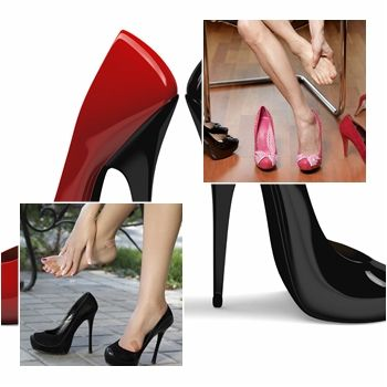 Wear heels without damaging your feet