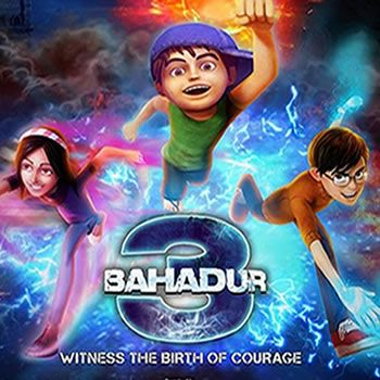 3 bahadur Pakistani Animated Movie