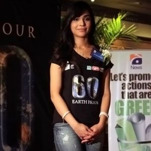 Humaima Malick vows for a better environmental future