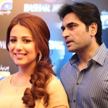 Humayun Saeed goes GaGa in Love with Ushna