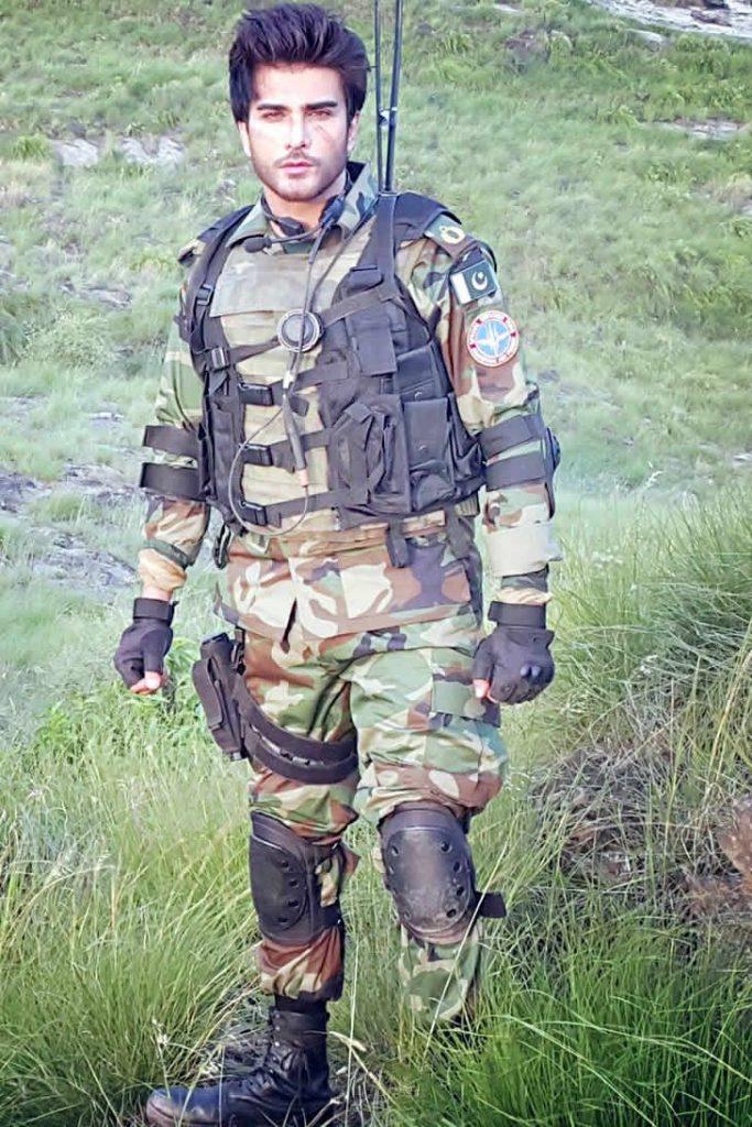 Imran Abbas in Pakistan Air Force Music Video