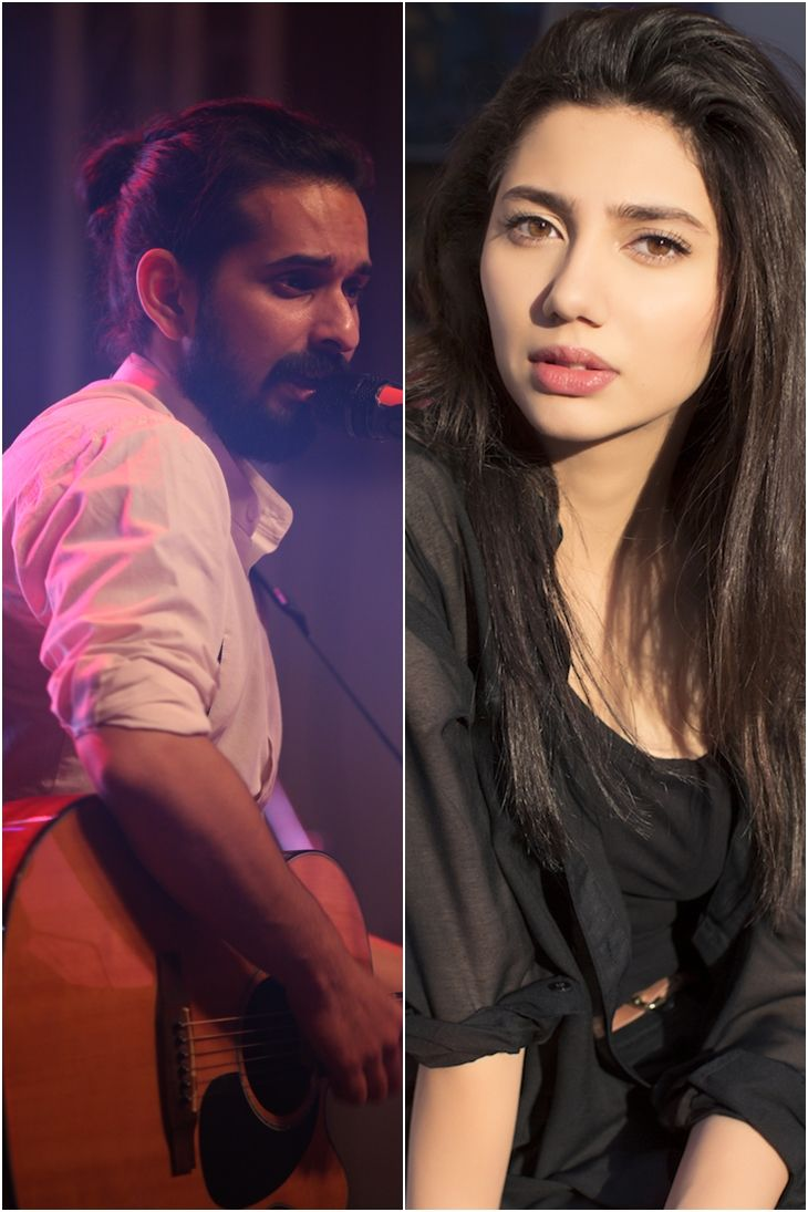 Mahira Khan & Jimmy Khan perform duet of Ho Mann Jahaan soundtrack Baarish