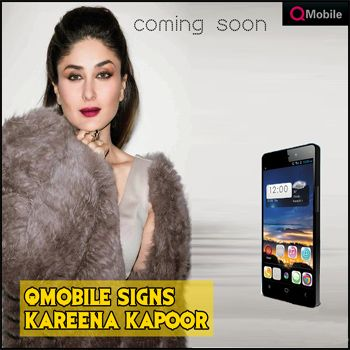 Kareena Kapoor Brand Ambassador of Q Mobile