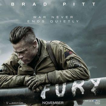 Brad Pitt's New Movie 'Fury'