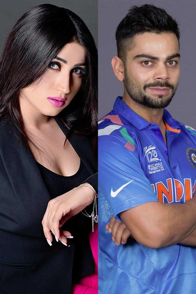 Qandeel Baloch eyes Virat Kohli