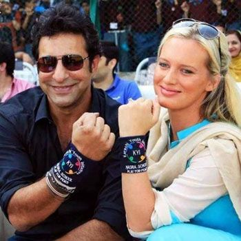 Waseem Akram is over the moon to become a Father
