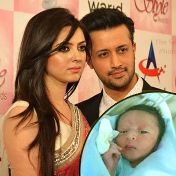 Atif Aslam Blessed with Baby Boy