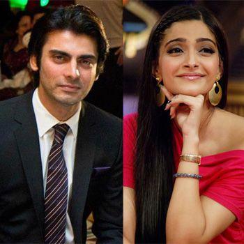 Fawad joined Sonam Kapoor at Khoobsurat set