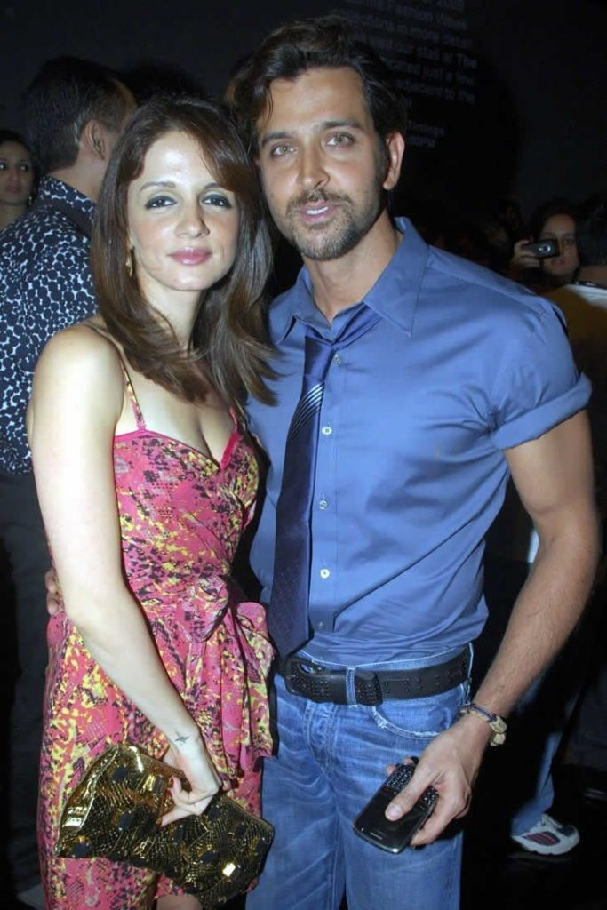 Hrithik Roshan and Sussanne Khan Party Together