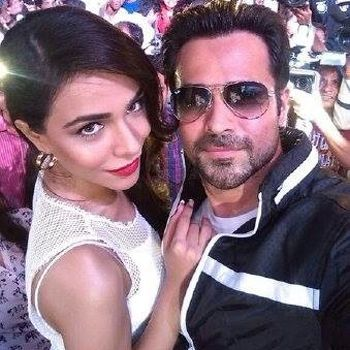 Humaima and Emraan onscreen breezy romance
