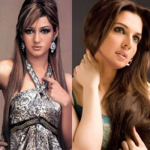 Mahnoor Baloch And Mathira Prepare For Item Song Competition