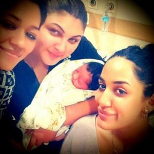 Mathira is now a Mother of a Baby Boy