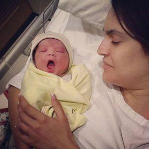 Pakistani Model Nadia Hussain Give Birth to Baby Boy
