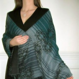 Pick up Dazzling Shawls, Stoles, Ponchos for your Winter Wardrobe