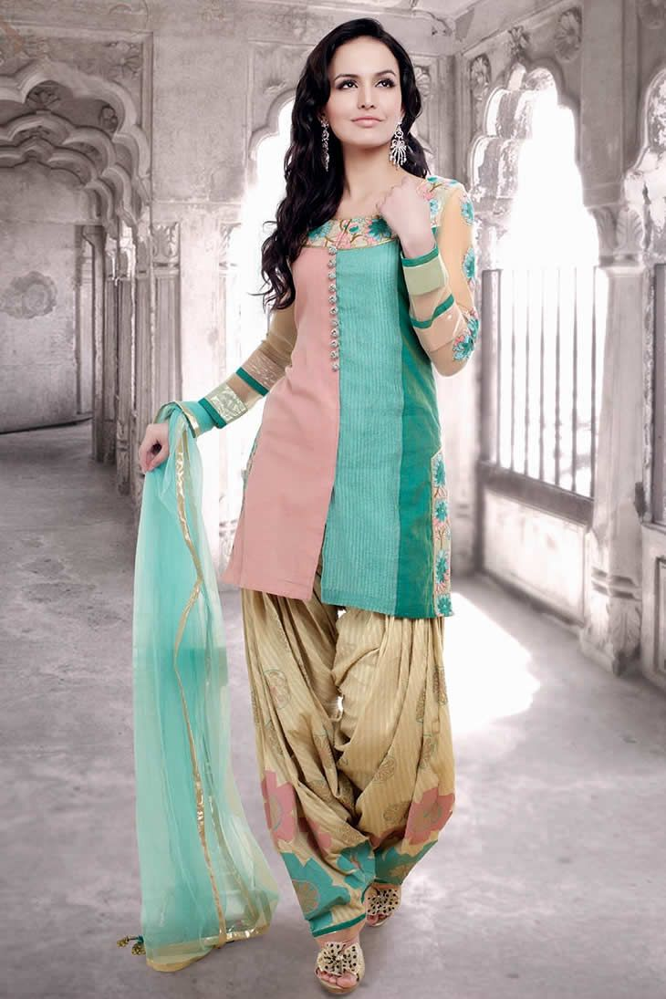 a3d6456eb Patiala Salwar punjabi suits