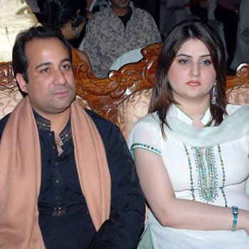 Rahat Fateh Ali khan's secret marriage with his girlfriend